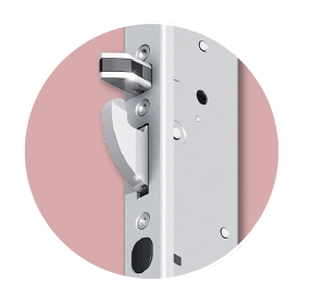 FUHR automatic lock with DuoSecure technology